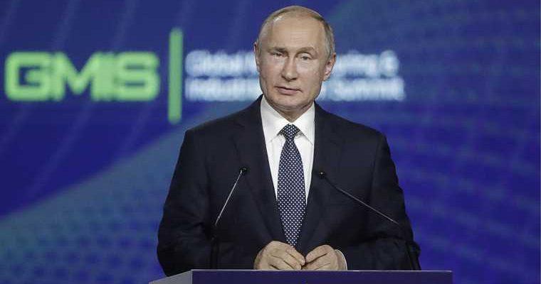 Владимир Путин в Екатеринбурге