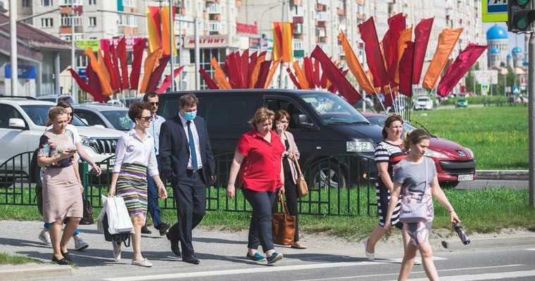 ХМАО режим самоизоляции продлен губернатор Комарова лидер Нефтеюганск коэффициент распространения