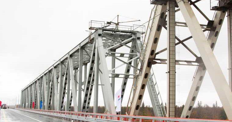 мост через Надым ЯНАО корпорация развития строительство передача властям ЯНАО