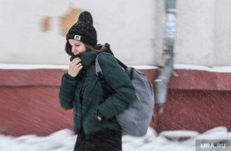 погода в России зимой