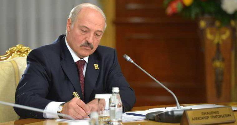 заявление Лукашенко о митингах