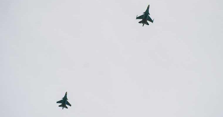 Турция истребитель f 16 сбил армянский самолет су 35