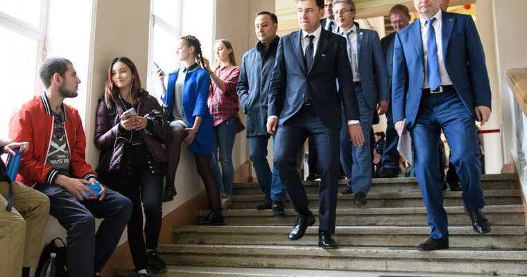 Стипендия губернатора Евгения Куйвашева