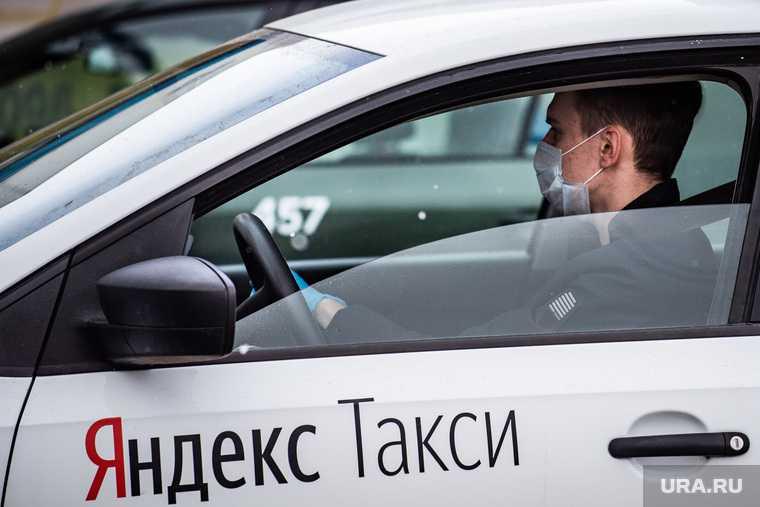 В Тюмени таксисты переругались