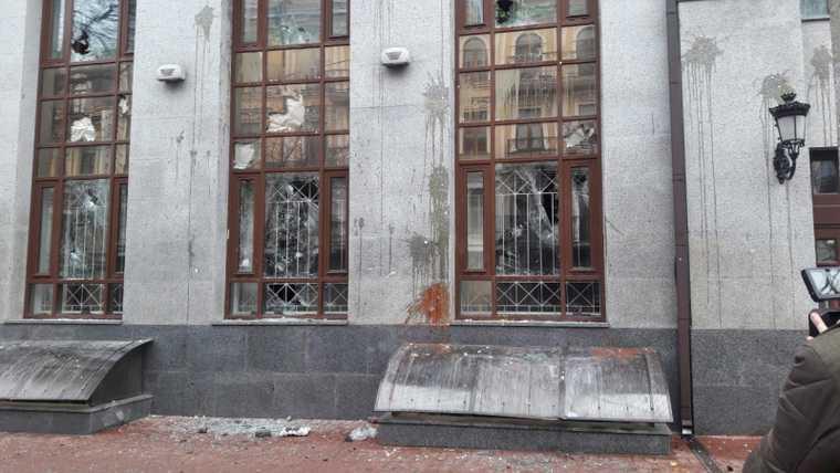 Зачоно арестован екатеринбуржец, напавший на обект РФ в Киеве. ФОТО. ВИДЕО