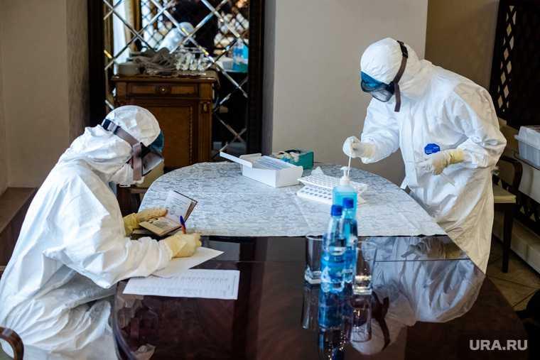 РАН заболеваемость коронавирусом зимой