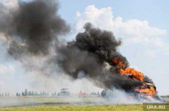 Михаил Литвин сжег свой Mercedes стоимостью 13 млн рублей
