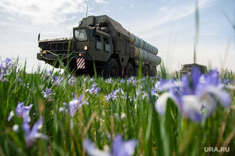 С-400 зенитно ракетный комплекс Турция учения