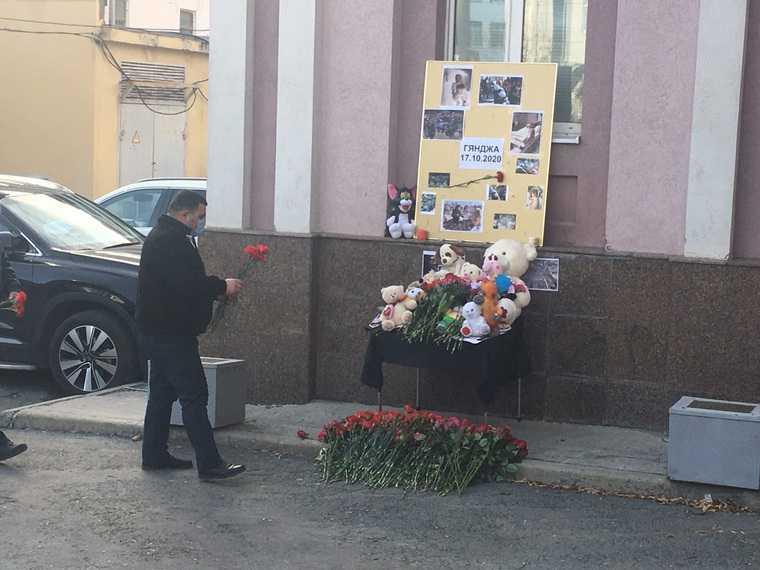 В Екатеринбурге открылся мемориал погибших в Азербайджане. Фото
