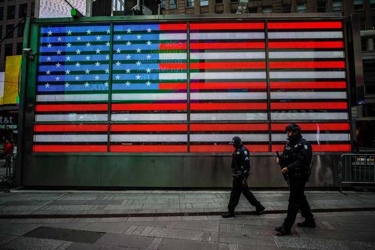 выборы президента США акции протеста полиция задержания американцы