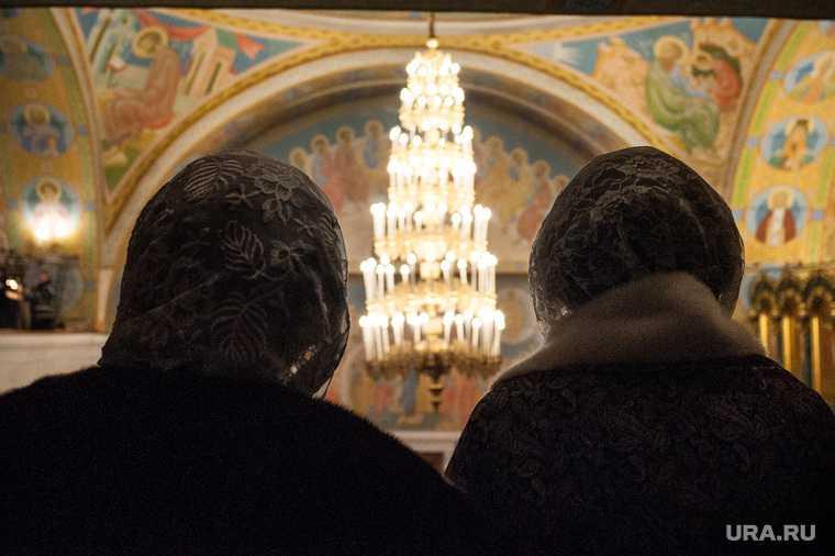 РПЦ не ходить пожилые люди храм Рождество