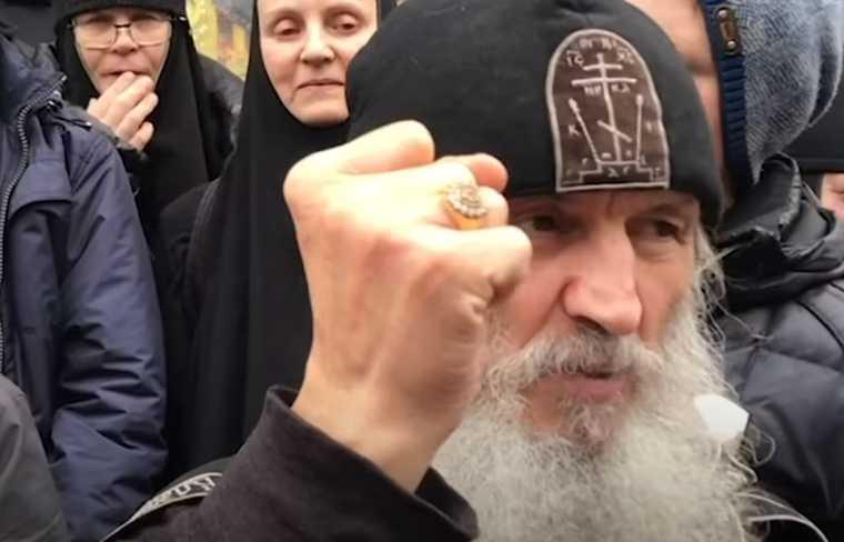Отец Сергий задержан