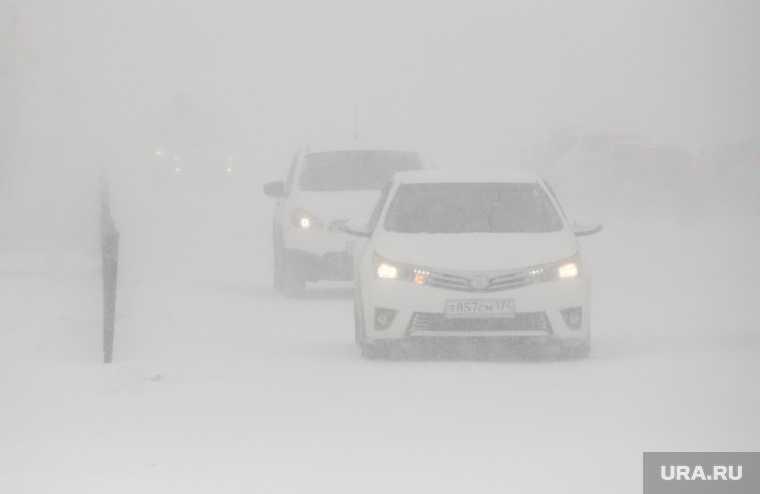 ЯНАО зимники работа погодные условия
