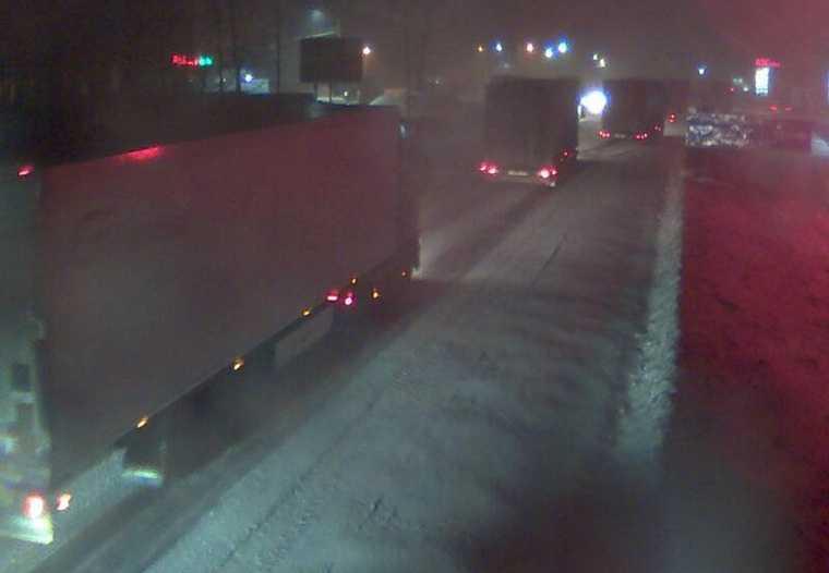 На трассе М5 «Урал» ограничивают движение. Фото
