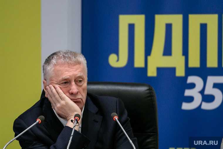 Жириновский ЛДПР кто финансирует