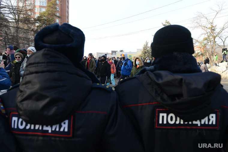 протесты последние новости Россия Челябинск акции митинги Алексей Навальный