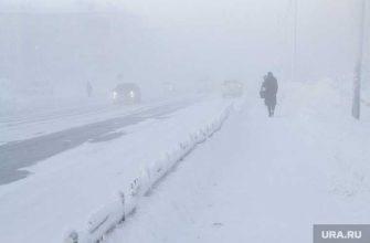 ЯНАО уборка снега накаты тротуары улицы Салехард нарушения