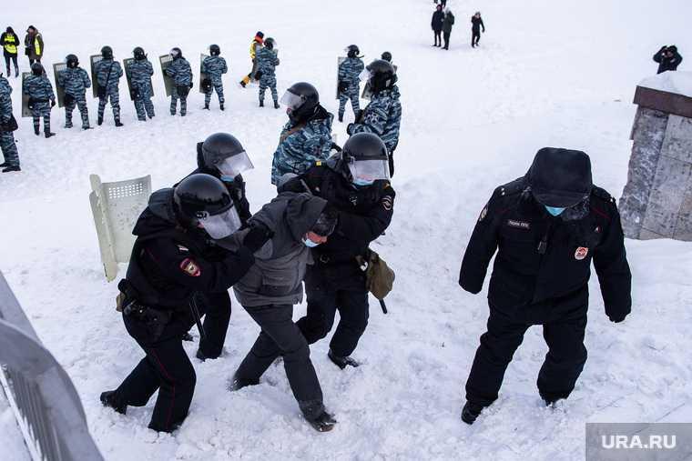 Екатеринбург митинг протест задержания