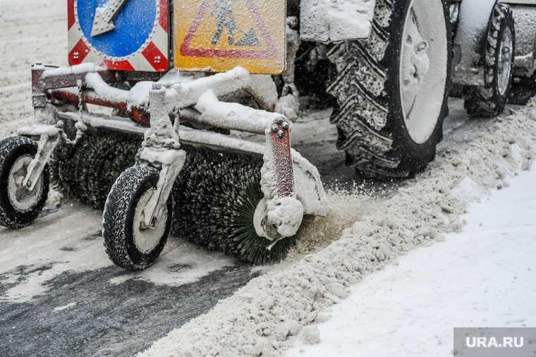 новости хмао уборка снега грязные дороги очистка снега с дорог югры хм