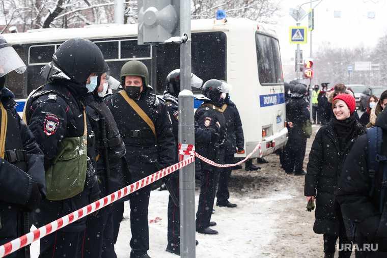 Несанкционированная акция в поддержку оппозиционера. Москва