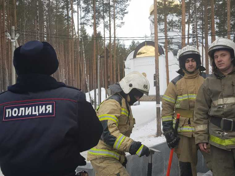 монастырь отца Сергия полиция МЧС конфликт