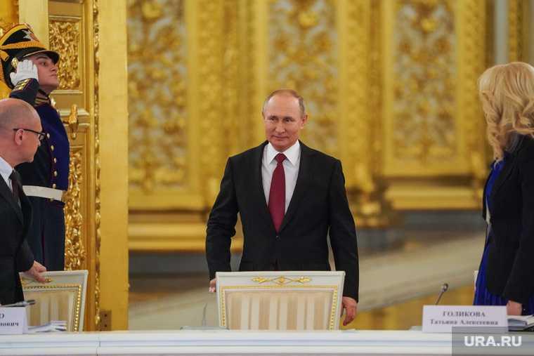 прививка Путина от коронавируса