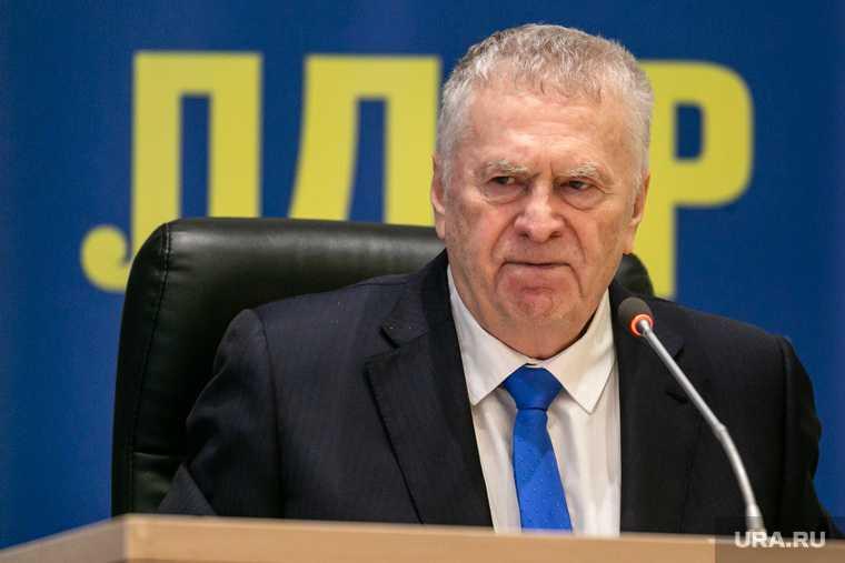 Жириновский декларация