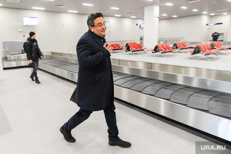 Новый терминал внутренних авиалиний в аэропорту «Курчатов». Челябинск