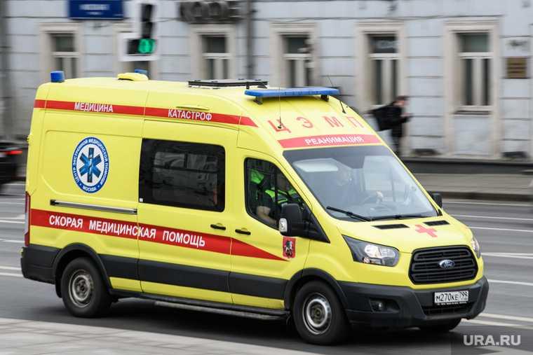 в ДТП у тюменской мэрии пострадали люди