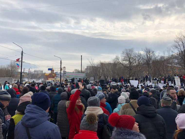 в Тюмени пройдут в митинги