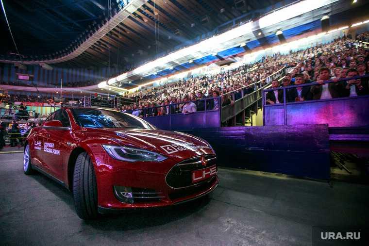 автомобили Тesla цена электрокары