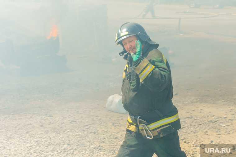 пожар гостиница Свердловской железной дороги база отдыха Таватуй Свердловская область