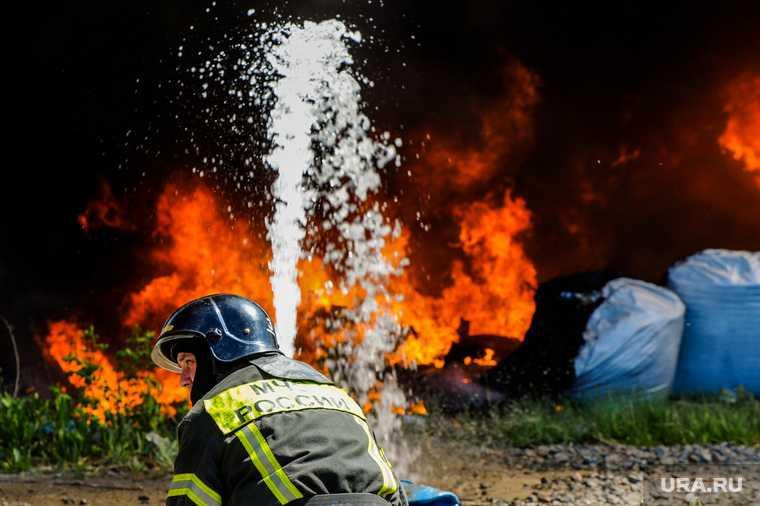пожар в Удмуртии