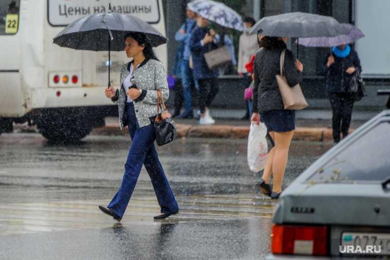 Челябинская области дожди грозы температура