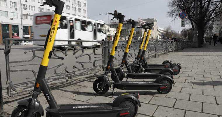 в Перми задерживают водителей электросамокатов