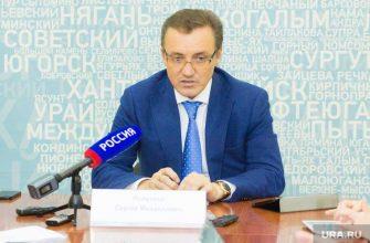 Вице-мэр Сургута Сергей Полукев