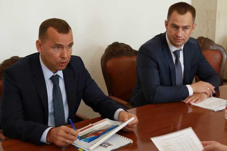 Шумков и Козицын обсудили проект на сотни миллионов рублей. Фото